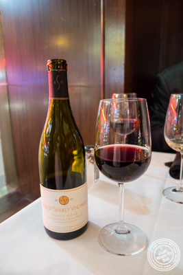 Pinot Noir Los Carneros, Napa Valley 2013 at Del Frisco's Double Eagle Steakhouse in Manhattan, NYC