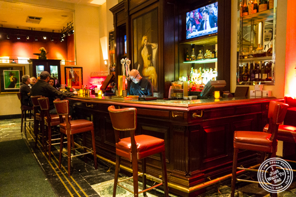 Bar at Gaby, NYC, NY