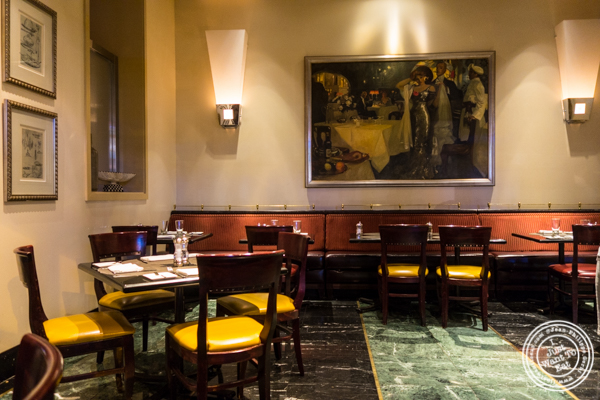 Dining room at Gaby, NYC, NY
