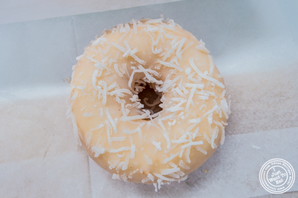 Coconut lime at Underwest Donut at Madison Square Garden