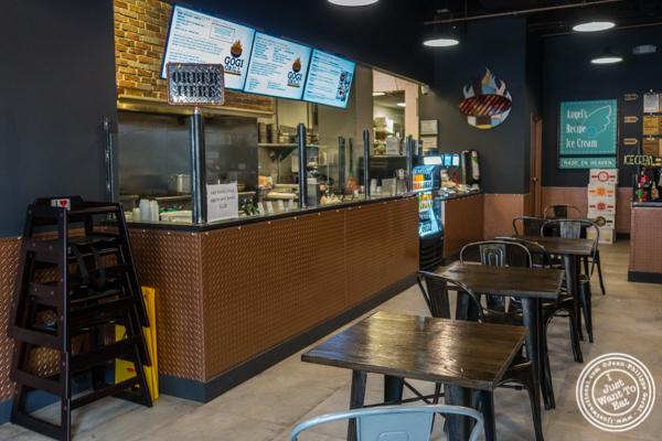 Dining room at Gogi Grill, Korean restaurant in Hoboken, NJ
