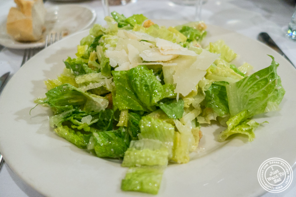 Caesar salad at Bobby Van's on Park Avenue, NYC, NY