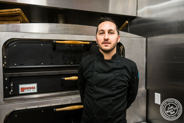 Chef Scott Andriani from ORO, Italian restaurant in Long Island City