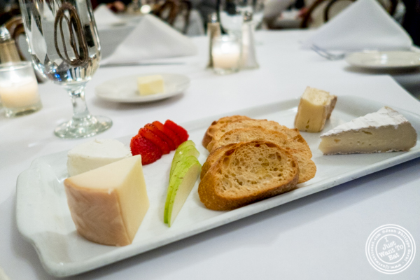 Cheese plate at Sel et Poivre in NYC NY & Sel et Poivre Authentic French cuisine by an Austrian Chef u2014 I Just ...