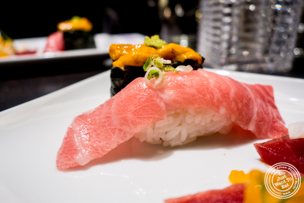 Toro at Haru in Hell's Kitchen, NYC, NY