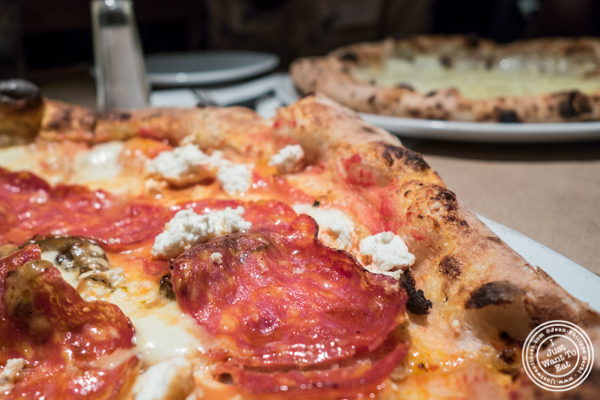 Borbone pizza at Ribalta in NYC, NY