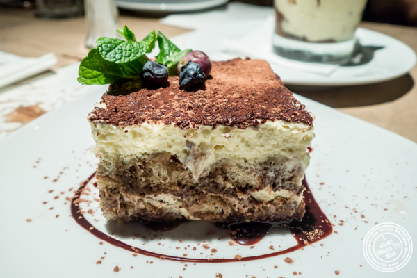 Tiramisu at Ribalta in NYC, NY