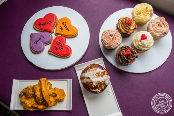 Sweet and savory specialties from Sugar Sketch in the East Village, NYC, NY