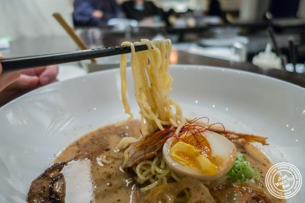 Chashu tonkotsu premium ramen at ROKI Le Izakaya in NYC, NY