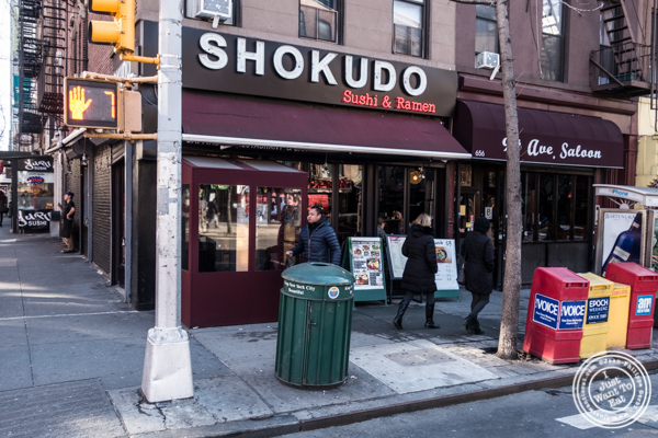 Shokudo Sushi and Ramen in Hell's Kitchen