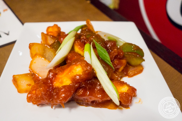 Chilly paneer at Chawlas2 in Gramercy, NYC, NY