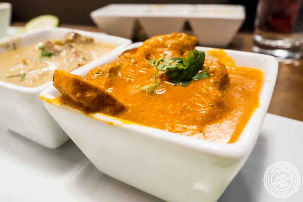 Butter chicken at Chawlas2 in Gramercy, NYC, NY