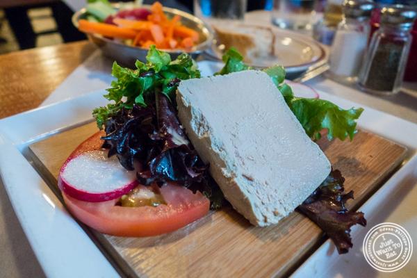 Foie gras at Tout Va Bien in NYC, NY