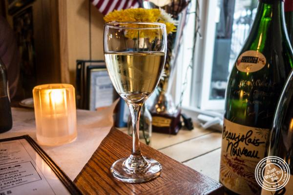 Sauvignon blanc at Tout Va Bien in NYC, NY
