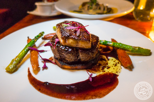 Tournedos Rossini at Gentleman Farmer in The Lower East Side, NYC