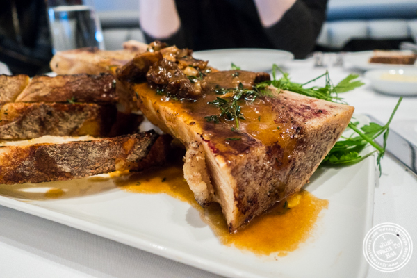 Bone marrow at Porter House in NYC, NY