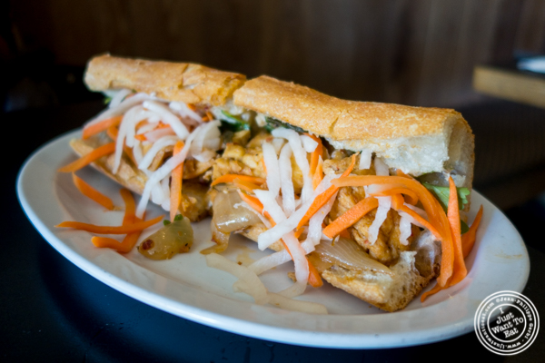 Banh mi Chay at Co Ba in Chelsea, NYC