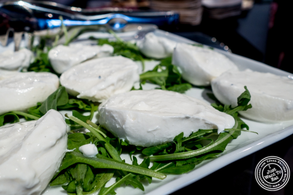 Truffle burrata from Urbani Truffles and Pat La Frieda