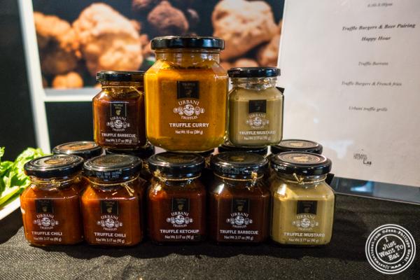 Truffle sauces from Urbani Truffles, NYC, NY