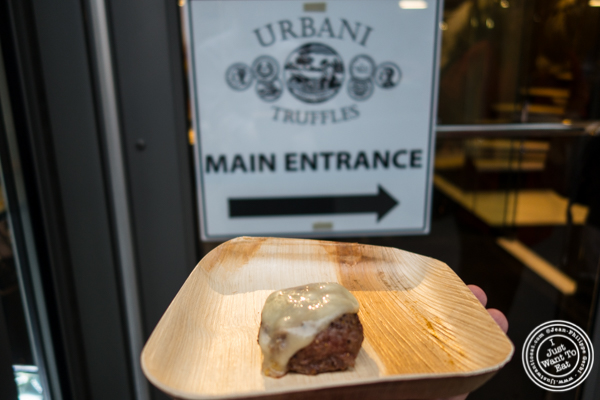 Truffle Burger from Urbani Truffles and Pat LaFrieda