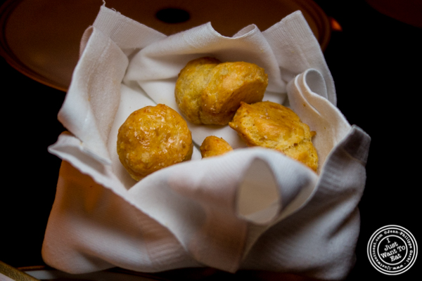 Gougeres at Cut by Wolfgang Puck in TriBeCa, NYC