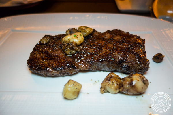 American Wagyu Ribeye at Cut by Wolfgang Puck in TriBeCa, NYC