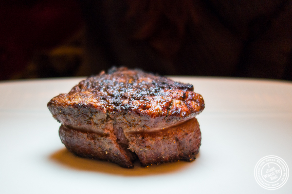 Filet mignon at Cut by Wolfgang Puck in TriBeCa, NYC
