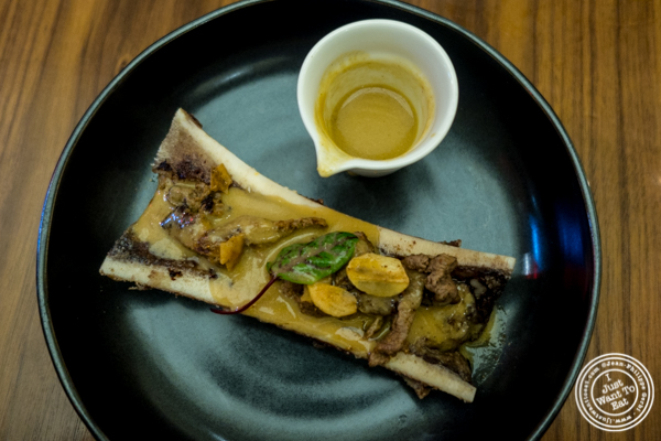 Bone marrow nihari at Indian Accent in NYC, NY