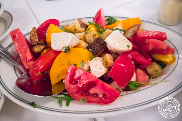 Caprese rustica salad at Tony's di Napoli in Times Square, NYC, NY