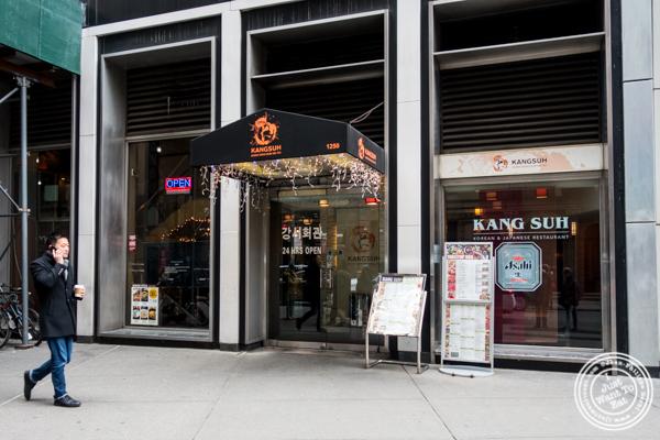 Kang Suh in KTown, NYC, NY