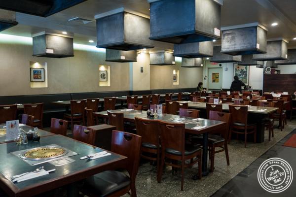 Upstairs dining room at Kang Suh in KTown, NYC, NY