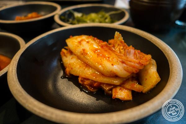 Kimchi at Kang Suh in KTown, NYC, NY