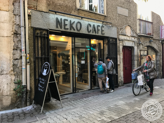Neko Cafe in Grenoble, France