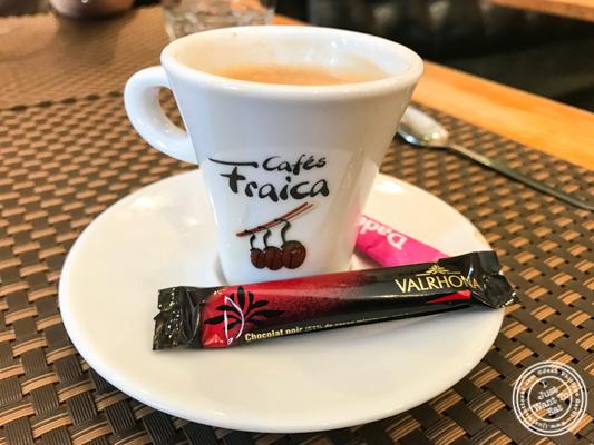 Espresso at La Petite Idée,Grenoble, France
