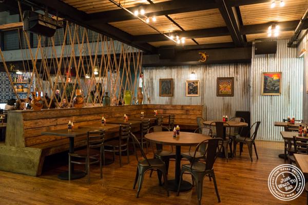 Dining room at Habanero Blues in NYC, NY