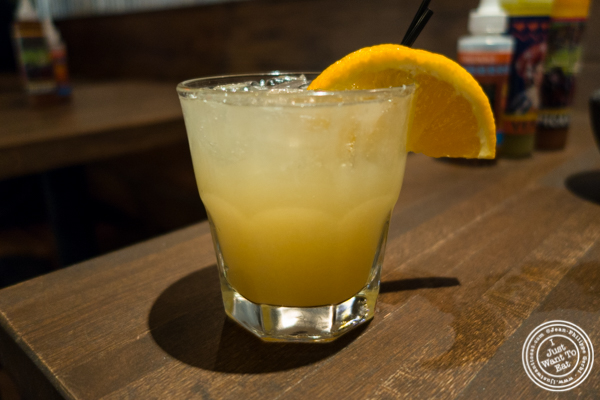 El Burro cocktail at Habanero Blues in NYC, NY