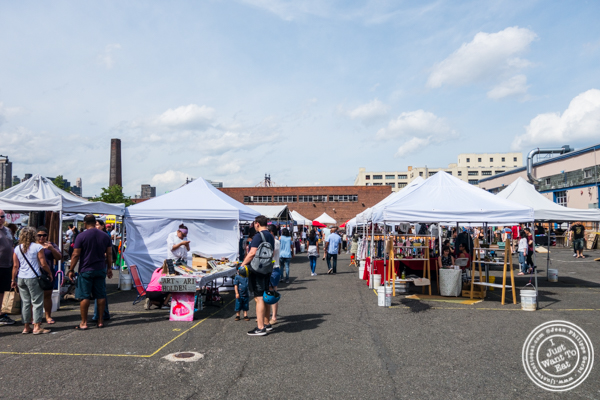 Stalls at LIC Flea and Food Market