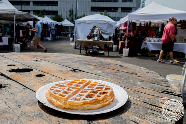 Waffle from Enzo Le Beau at LIC Flea and Food Market
