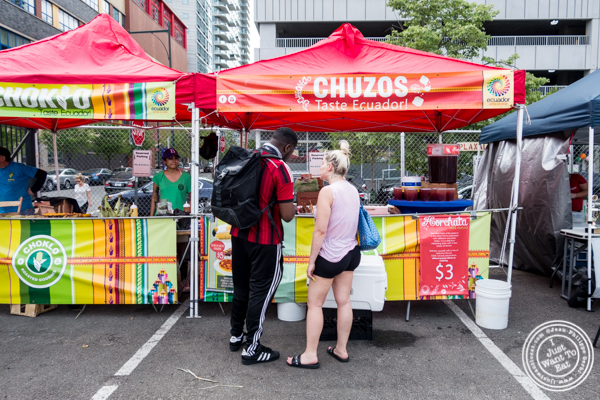 Chuzos at LIC Flea and Food Market