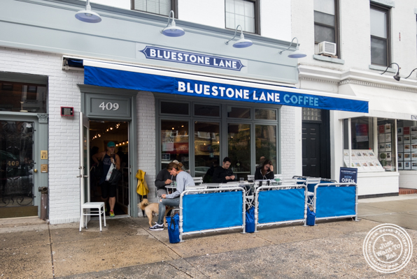 Bluestone Lane Coffee in Hoboken, NJ