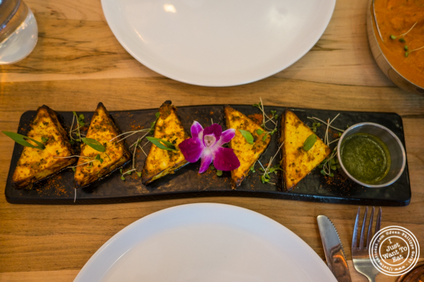 Paneer tikka at Badshah Modern Indian in Hell's Kitchen