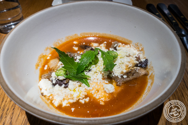 Huevos rancheros at Cosme in NYC, NY