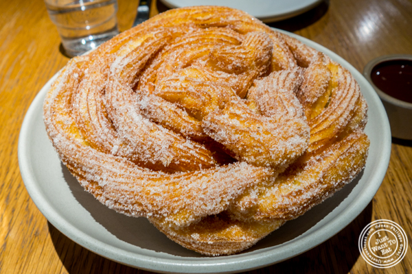 Churros at Cosme in NYC, NY