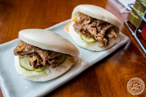 Bulgogi buns at Ichiba Ramen by Shinokubo, NYC, NY