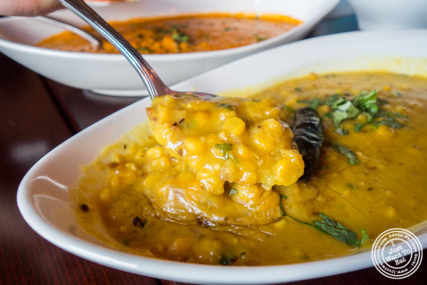 Dal tadka at Mumbai Masala Indian Grill in Harlem