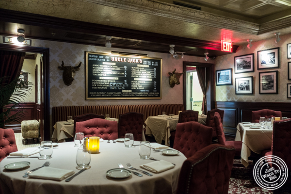 Dining room at Uncle Jack's Steakhouse in Midtown West , NYC