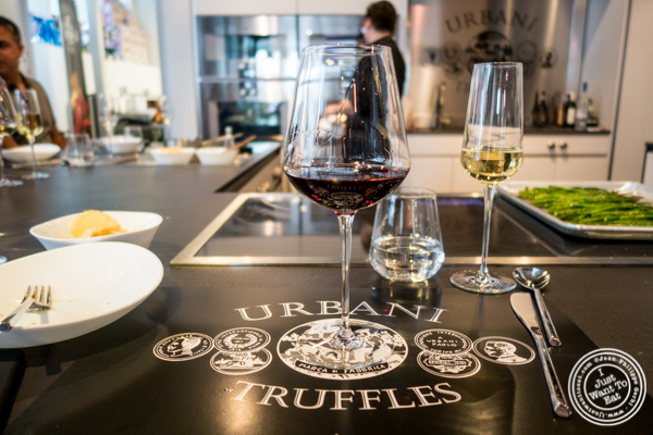 Terre Margaritelli Roccascossa Sangiovese from Umbria red wine at Urbani Truffle Lab in NYC, NY