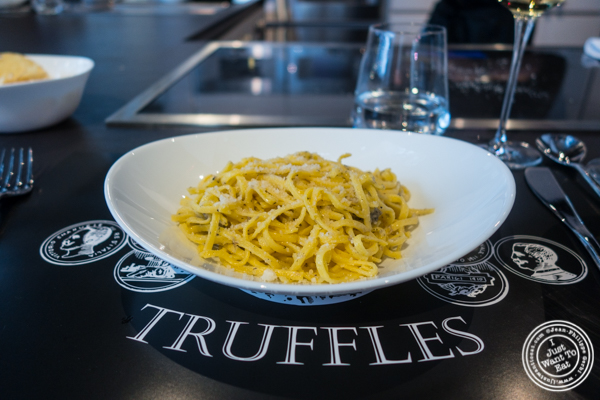 Chitarra alle spoletina at Urbani Truffle Lab in NYC, NY
