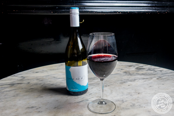 Cloud No 9 Pinot Noir 2015 at The Bedford in Williamsburg, Brooklyn, NY