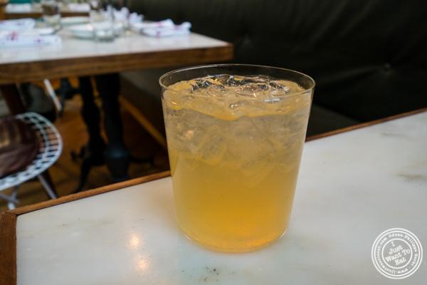Lemonade at El Quinto Pino in Chelsea, NYC